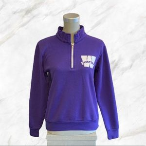Western University | Varsity Look Purple Sweater